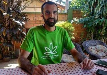 Conversamos con Edgar Martínez, activista paraguayo preso por fabricar aceite de cannabis medicinal para ayudar a pacientes